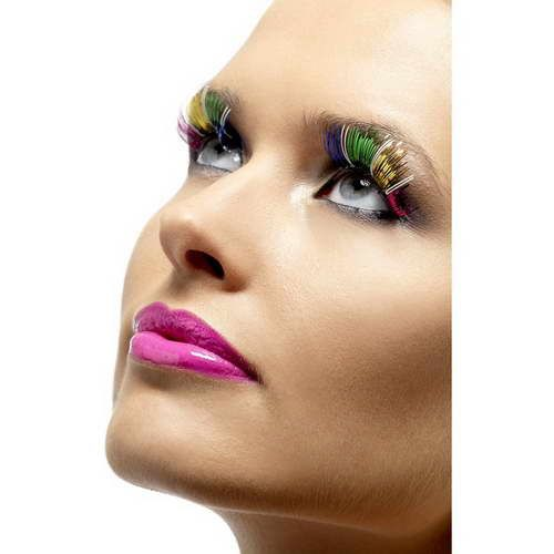 Metallic Augenwimpern : Regenbogen*