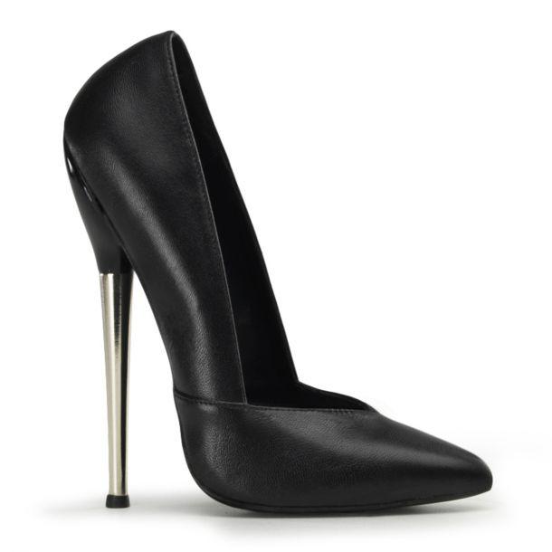 extrem high heels dagger 03 leder schwarz devious. Black Bedroom Furniture Sets. Home Design Ideas