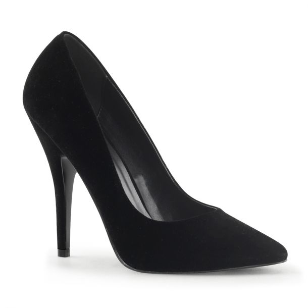 Pumps SEDUCE-420 - Samt Schwarz