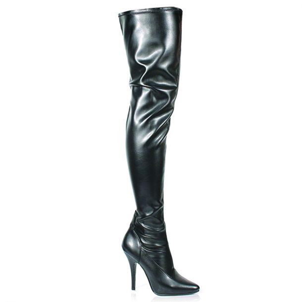 Overknee Stiefel SEDUCE-3000 : PU Schwarz*