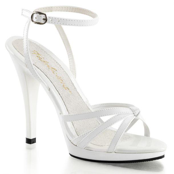 Sandalette FLAIR-436 - Lack Weiß*