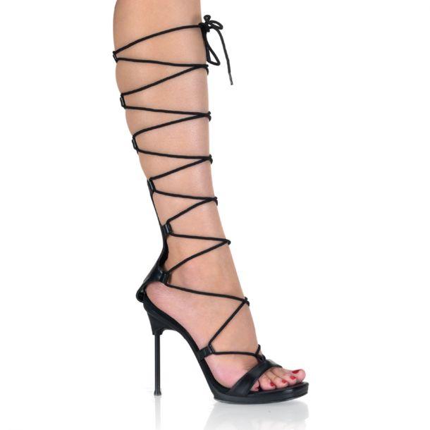 Sandalette CHIC-60 - PU Schwarz