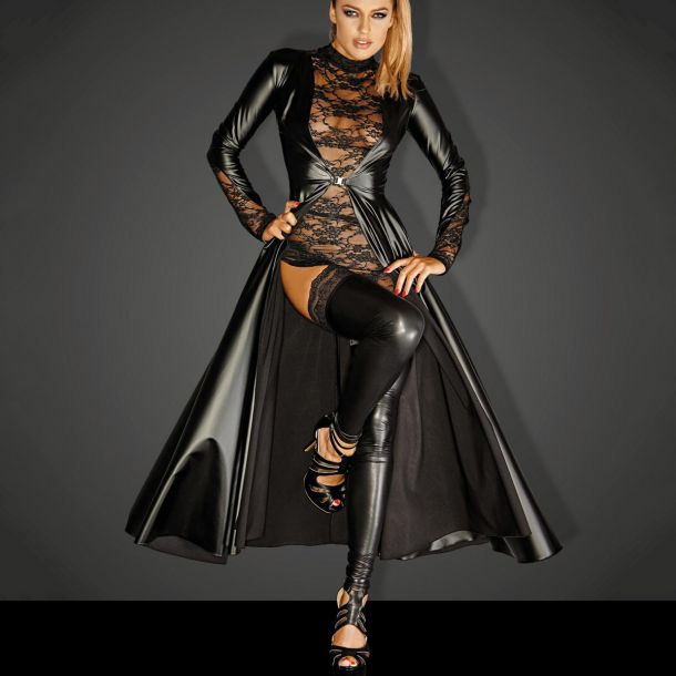 Powerwetlook Mantel DIVALICIOUS GOWN*