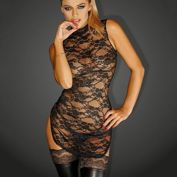 Spitzen Mini Kleid DIVALIOUS DRESS