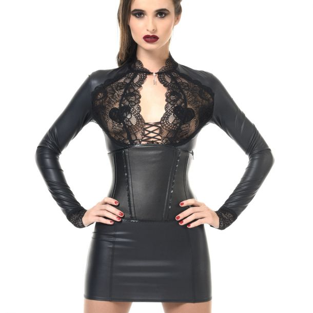 Wetlook Mini Kleid ELISA*