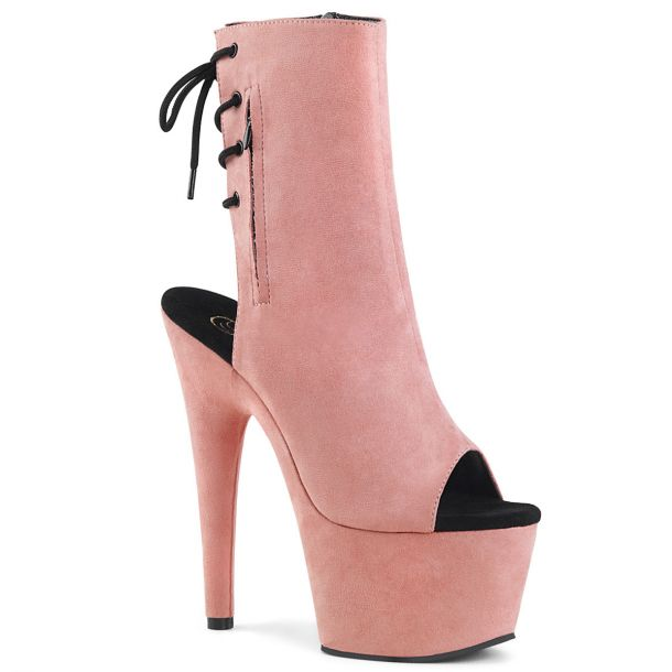 Plateau Stiefelette ADORE-1018FS - Baby Pink