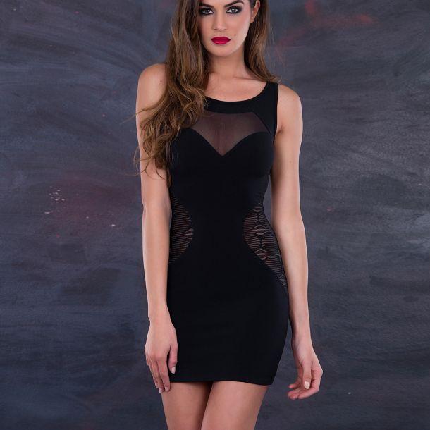 Ärmelloses Mini Kleid LOLY