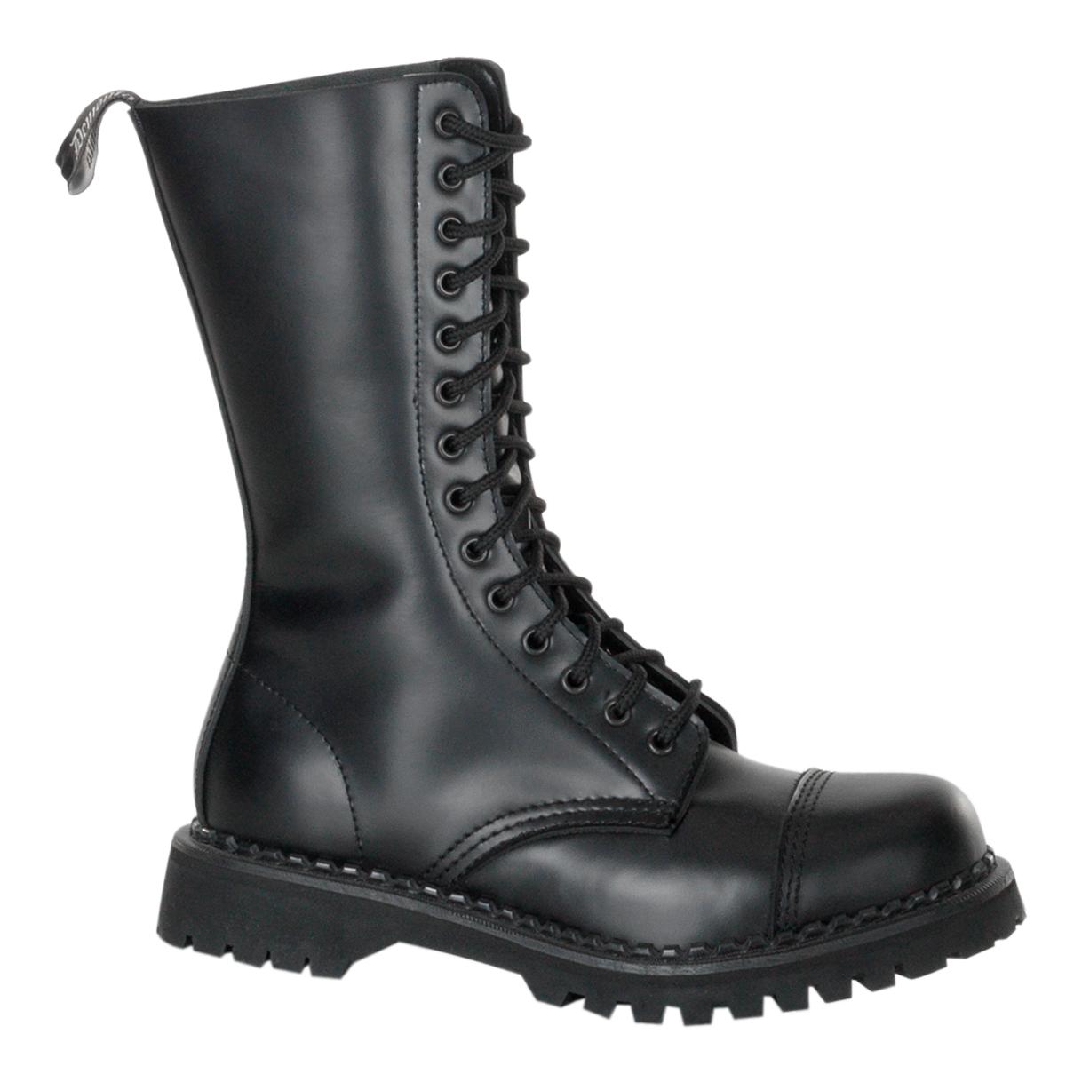 Demonia Gothic Stiefel STEAM 20 Braun 36 EU: