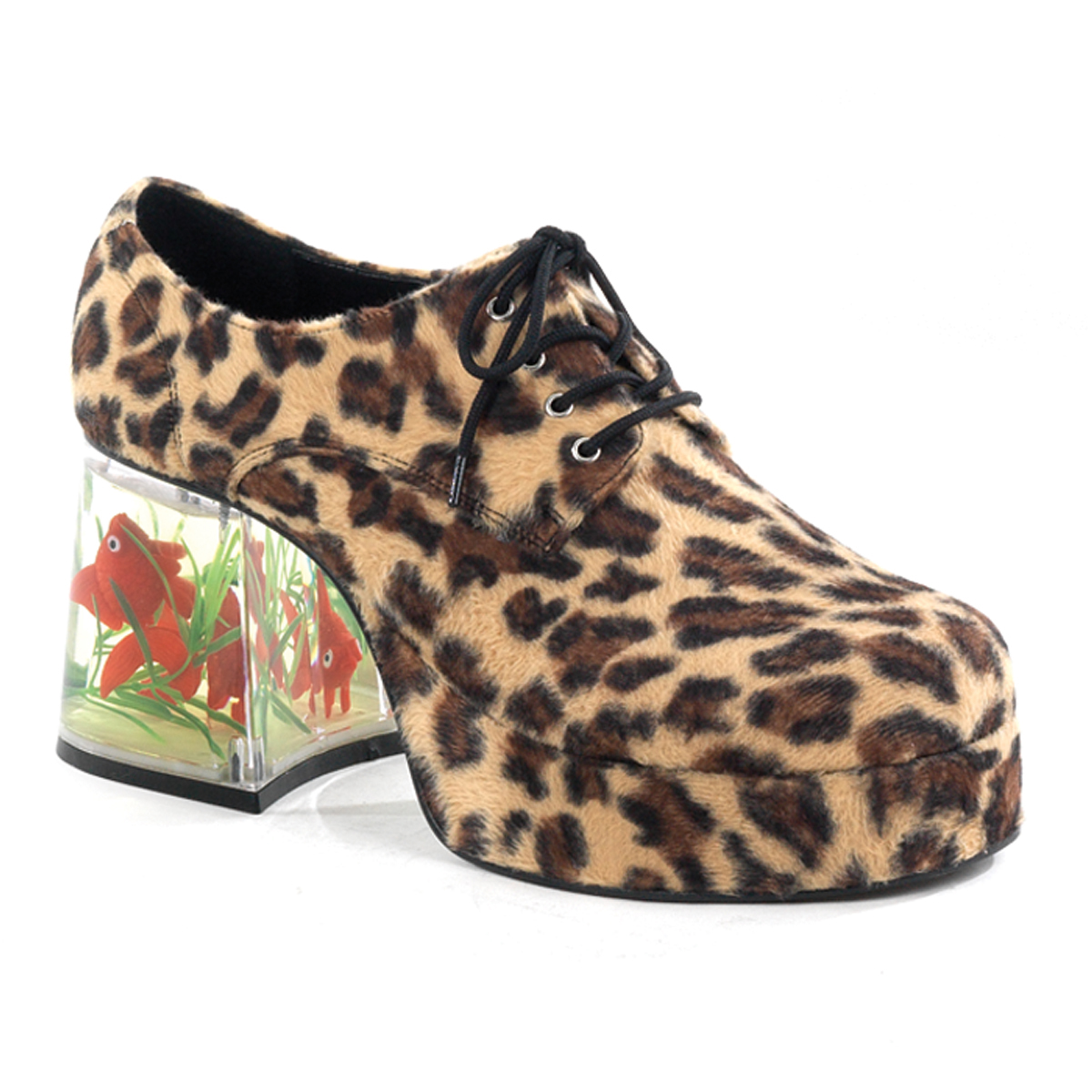 sports shoes 369b7 f1f82 Herren Plateauschuhe PIMP-02 - Leopard