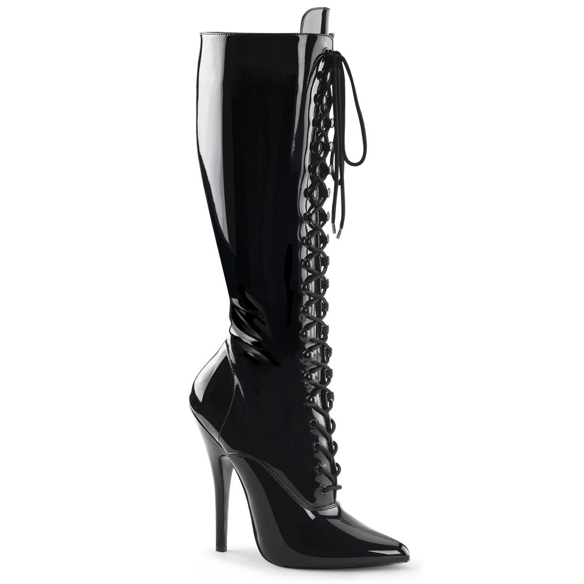 extrem high heels domina 2020 lack schwarz pleaser. Black Bedroom Furniture Sets. Home Design Ideas