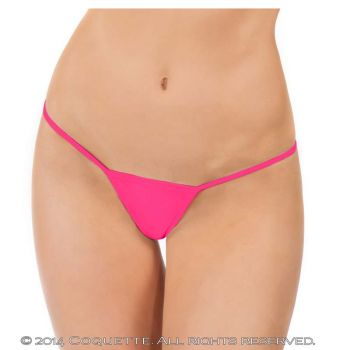 Micro-String - Neon Pink*