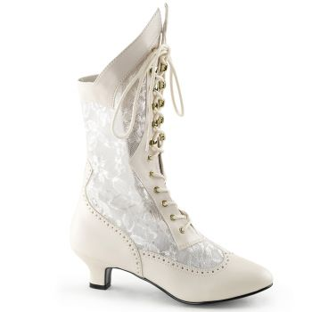 Stiefelette DAME-115 - Ivory