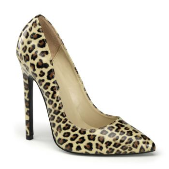 Leo High Heels SEXY-20 - Leopard Tan