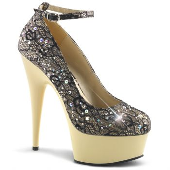 Plateau Pumps DELIGHT-686LC - Champagner