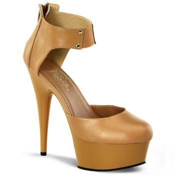 Plateau Pumps DELIGHT-677 - Tan