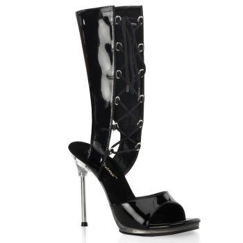 Sandalette CHIC-65 - Lack Schwarz