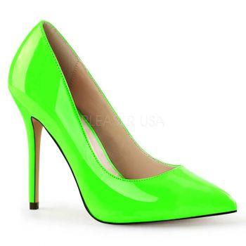 5a896e789ebdb Extrem High Heels DOMINA-420 - Lack Schwarz, Pleaser