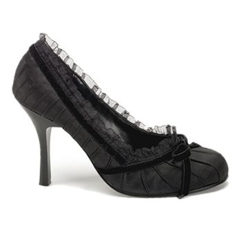 Pumps DAINTY-420 : Satin Schwarz*