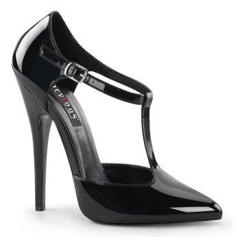 High Heels DOMINA-415 - Lack Schwarz