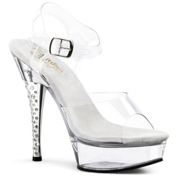 Plateau High Heels DIAMOND-608 - Klar