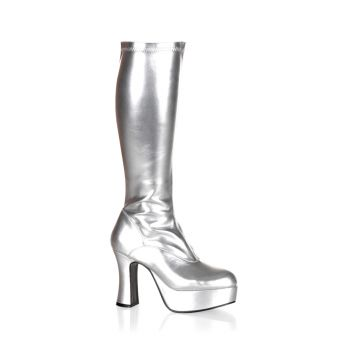 Platform Boots EXOTICA-2000 - Silver