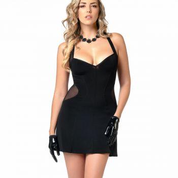 Ärmelloses Mini Kleid PENNY - Schwarz