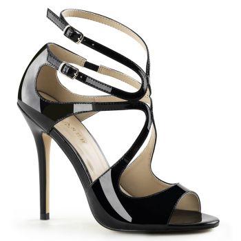 Sandalette AMUSE-15 - Lack Schwarz*