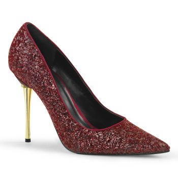 Stiletto Pumps APPEAL-20G - Glitter Burgundrot