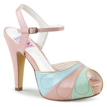 Retro Sandalette BETTIE-27 - Rosa