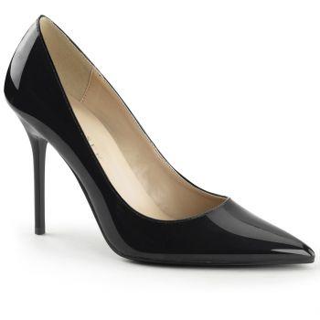 stiletto pumps classique 20 lack schwarz pleaser. Black Bedroom Furniture Sets. Home Design Ideas