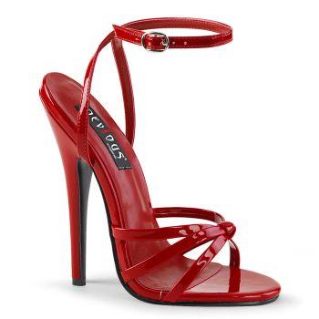 Extrem High Heels DOMINA-108 - Rot