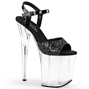 Plateau High Heels FLAMINGO-810 - Schwarz