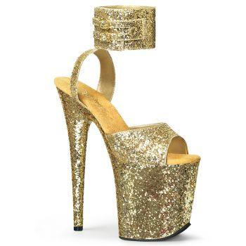 Extrem Plateau Heels FLAMINGO-891LG - Gold
