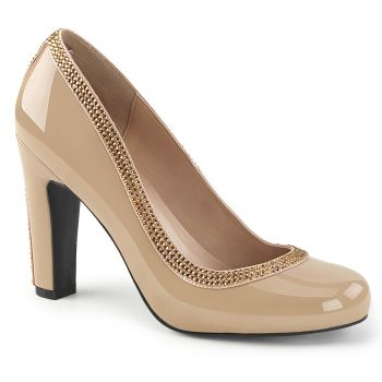 Pumps QUEEN-04 - Creme