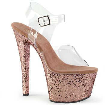 Plateau High Heels SKY-308LG - Rose Gold
