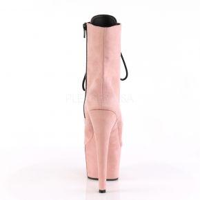 Plateau Schnürstiefelette ADORE-1020FS - Baby Pink