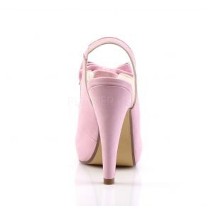 Peeptoe Slingpumps BETTIE-03 - Baby Pink